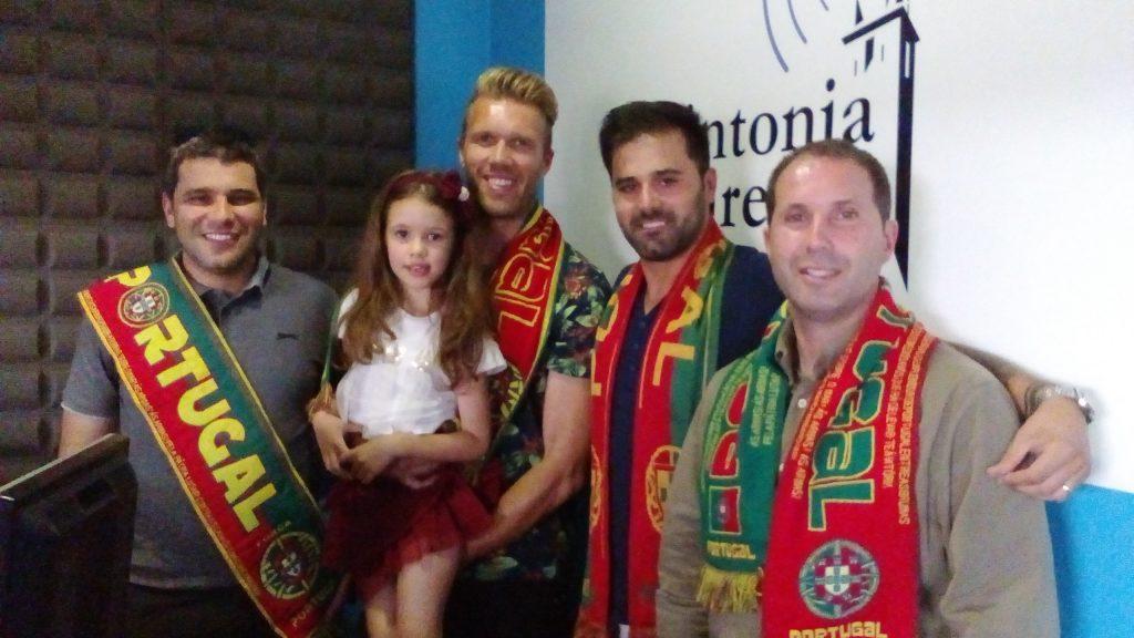 D Paulo Lima e o trio g redes