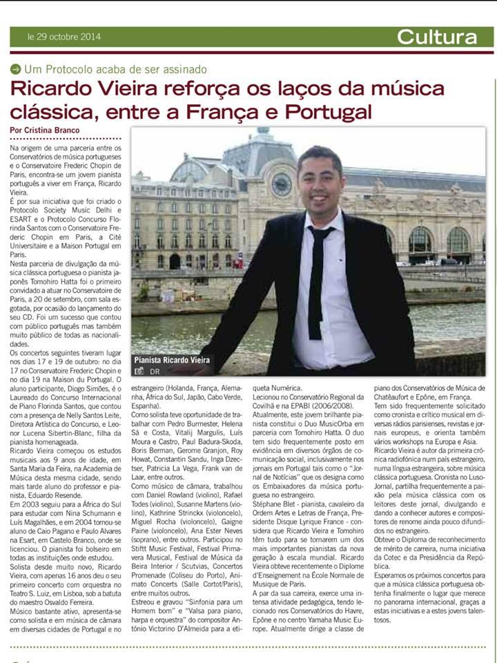 D Ricardo Franca e Portugal unidos pela musica