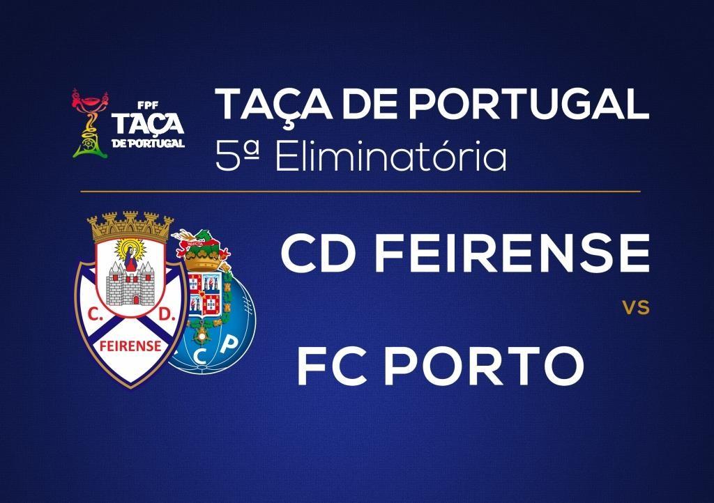 Feirense Porto dia 16 Dezembro