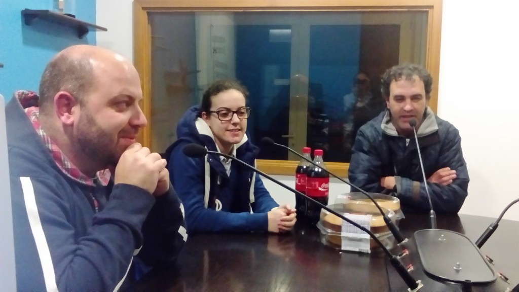 Jorge Silva trio Futsal