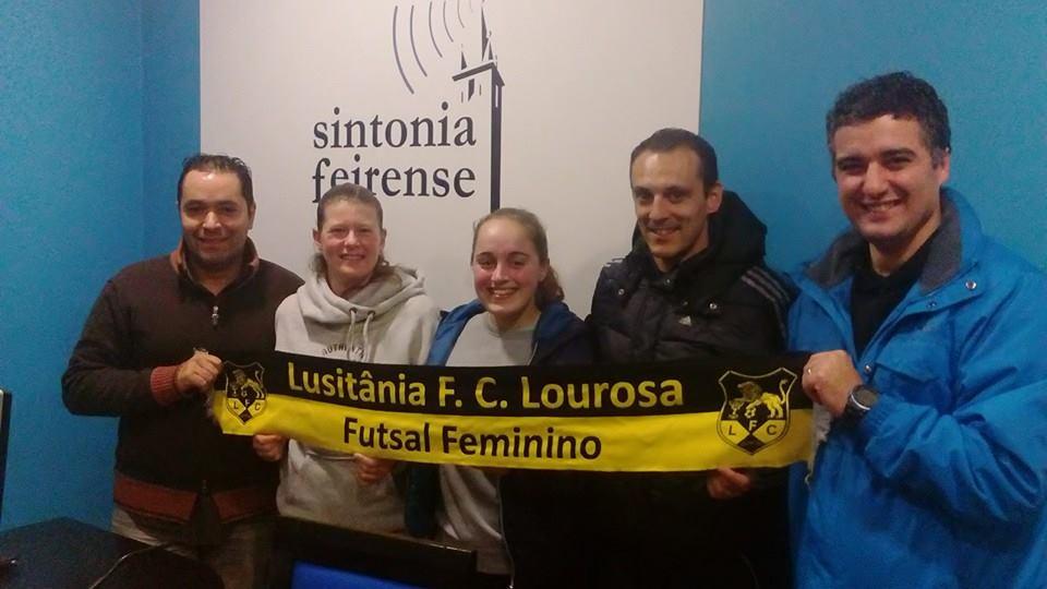Lourosa na Sintonia Feirense