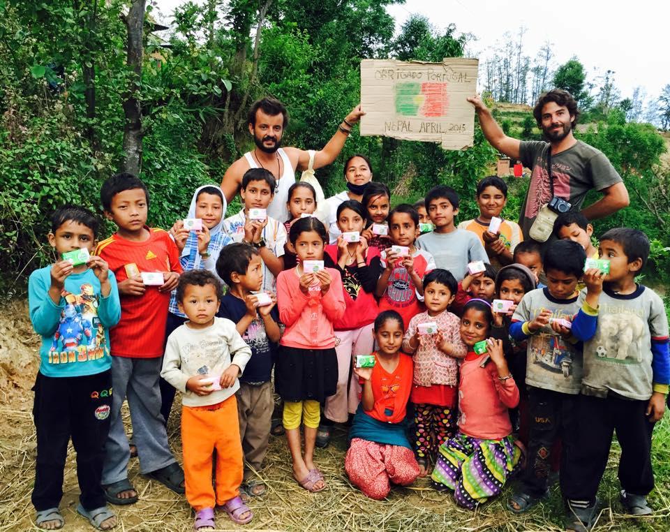 alvaro leite correr pelo Nepal
